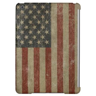 El vintage Estados Unidos señala por medio de una