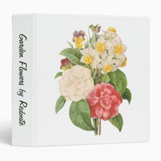 """El vintage florece el ramo informal floral por carpeta 1 1/2"""""""