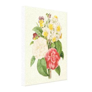 El vintage florece el ramo informal floral por Red Lona Estirada Galerias