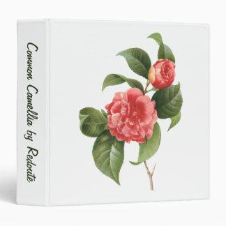 El vintage florece las camelias rosadas rojas flor