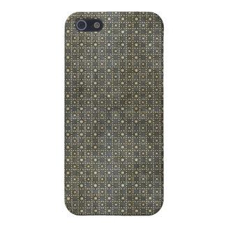 El vintage gris oscuro puntea el caso del iPhone 4 iPhone 5 Cobertura