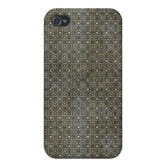 El vintage gris oscuro puntea el caso del iPhone 4 iPhone 4 Coberturas