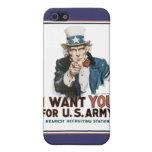 El vintage I le quiere ejército iPhone 5 Cárcasas