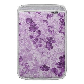 El vintage inspiró color de malva floral 11 funda macbook air