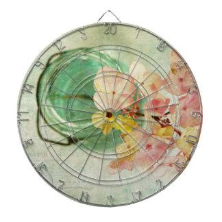 El vintage inspiró el Hydrangea en tarro de Tabla Dardos