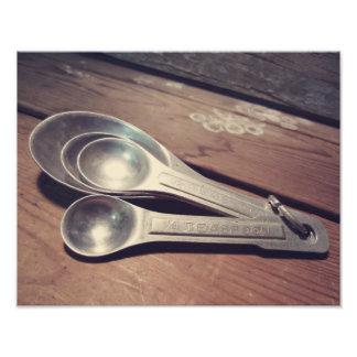El vintage inspiró las cucharas dosificadoras de fotografías