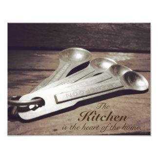 El vintage inspiró las cucharas dosificadoras de fotografía
