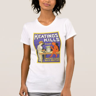 El vintage Keatings mata al insecticida Camisetas