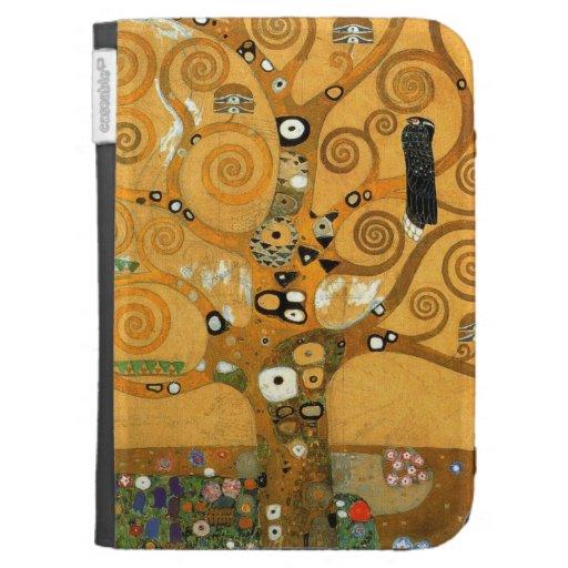 """El vintage Klimt """"árbol de la vida"""" enciende la ca"""