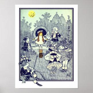 El vintage mago de Oz, Dorothy resuelve el Póster