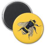 El vintage manosea la abeja iman