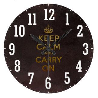 El vintage mantiene tranquilo y continúa el reloj
