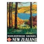 El vintage Marlborough suena Nueva Zelanda Postal