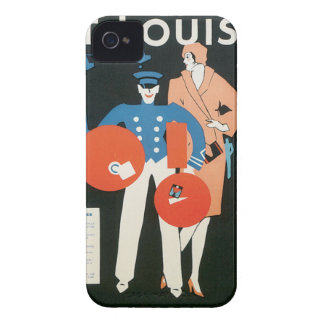 El vintage me encuentra en St. Louis iPhone 4 Case-Mate Cobertura