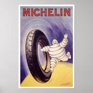 El vintage Michelin cansa el anuncio 2 Poster