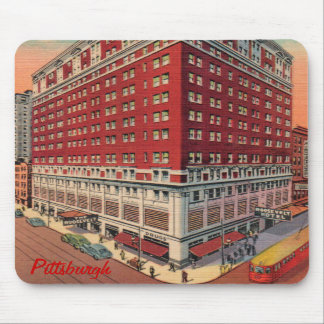 El vintage Mousepad del hotel de Roosevelt