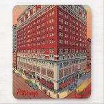 El vintage Mousepad del hotel de Roosevelt Alfombrilla De Ratón