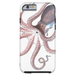El vintage náutico del pulpo del steampunk kraken funda para iPhone 6 tough