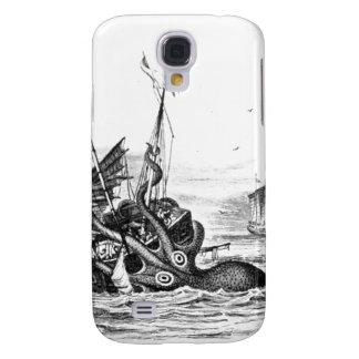 El vintage náutico del pulpo del steampunk kraken  samsung galaxy s4 cover