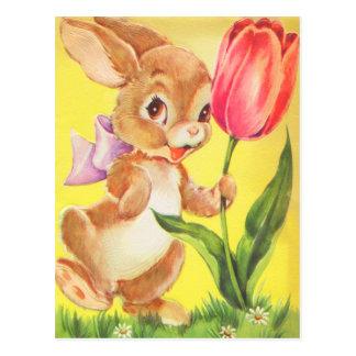 El vintage Pascua embroma la postal