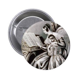 El vintage recuerda Thy ejemplo 1846 del creador Pin Redondo 5 Cm