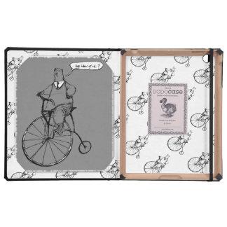 """El vintage refiere el ciclo """"foto """" del comino del iPad cárcasa"""
