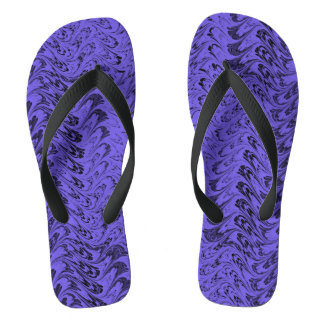 El vintage remolina las ondas azules púrpuras del