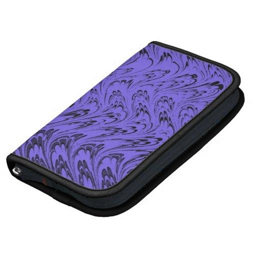 El vintage retro agita al planificador púrpura