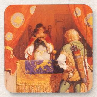 El vintage Robin Hood encuentra a la criada Posavaso
