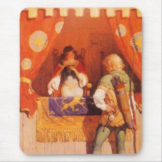 El vintage Robin Hood encuentra a la criada Tapete De Raton