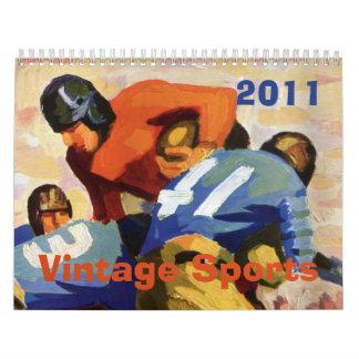 El vintage se divierte 2011 calendarios