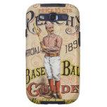 El vintage se divierte el béisbol, arte de la galaxy s3 funda