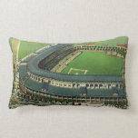 El vintage se divierte el estadio de béisbol, almohada