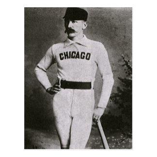 El vintage se divierte la foto del béisbol; Jugado Postales