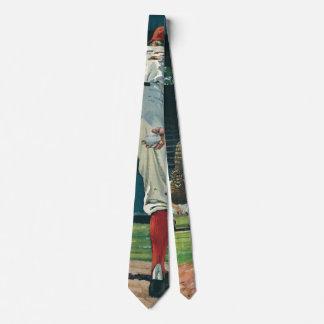 El vintage se divierte la jarra de los jugadores corbata personalizada