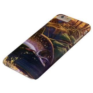 El vintage se divierte la pesca de los pescados de funda barely there iPhone 6 plus
