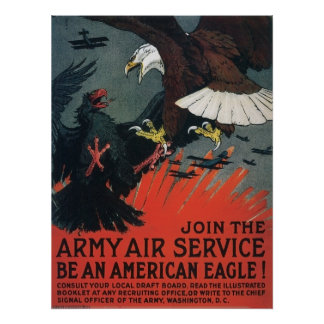 El vintage se une al servicio aéreo del ejército impresiones
