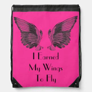 El vintage se va volando (ganó mis alas) el bolso  mochilas