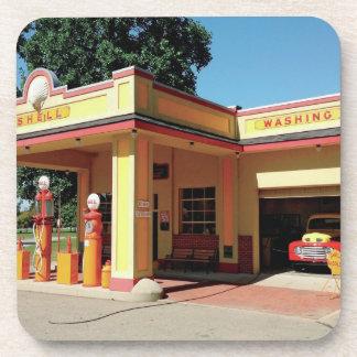 El vintage Shell coloca Posavasos De Bebidas