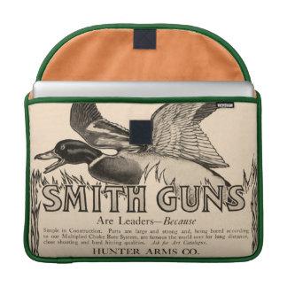 El vintage Smith dispara contra el pato que caza e Fundas Para Macbooks