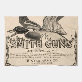 El vintage Smith dispara contra la toalla de cocin