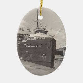 El vintage Soo del carguero del mineral de los orn Adorno