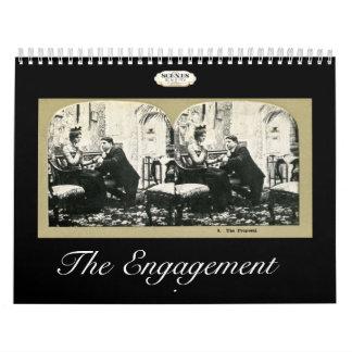 El vintage Stereoviews de la historia del Calendarios De Pared