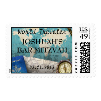 El vintage traza franqueo de las celebraciones del sellos