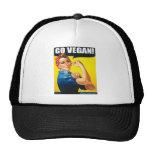 El vintage va gorra del vegano
