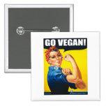 El vintage va vegano pins