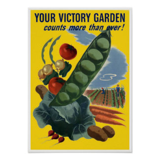 El vintage WW2 crece su propia impresión del