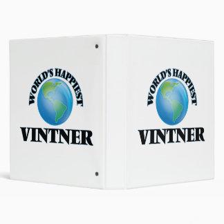 El Vintner más feliz del mundo Carpeta 2,5 Cm