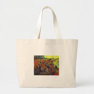 El Vinyard rojo de Vincent van Gogh Bolsa