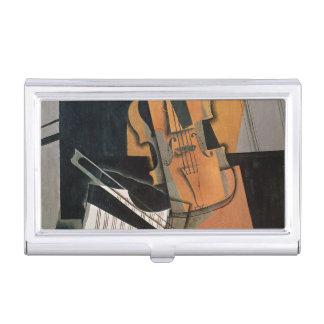 El violín, 1916 caja de tarjetas de presentación